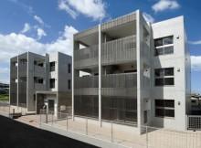 全戸角部屋、スタイリッシュなデザインの戸建感覚賃貸マンション。